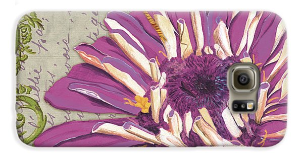 Moulin Floral 2 Galaxy S6 Case by Debbie DeWitt