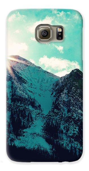 Mountain Starburst Galaxy S6 Case by Kim Fearheiley