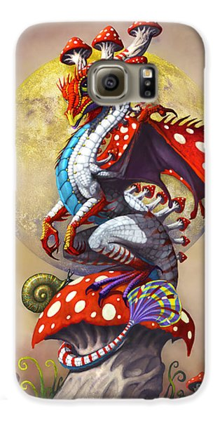 Mushroom Dragon Galaxy S6 Case by Stanley Morrison