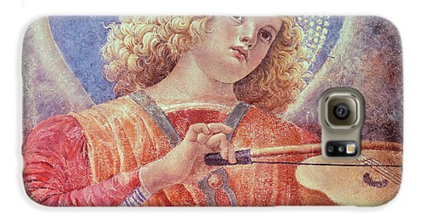 Musical Angel With Violin Galaxy S6 Case by Melozzo da Forli
