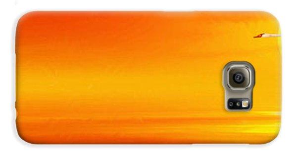 Mute Sunset Galaxy S6 Case by John Edwards
