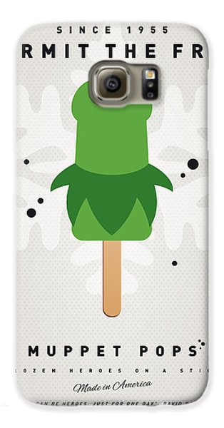 My Muppet Ice Pop - Kermit Galaxy S6 Case by Chungkong Art