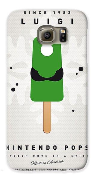 My Nintendo Ice Pop - Luigi Galaxy S6 Case by Chungkong Art