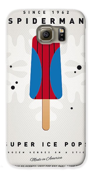 My Superhero Ice Pop - Spiderman Galaxy S6 Case by Chungkong Art