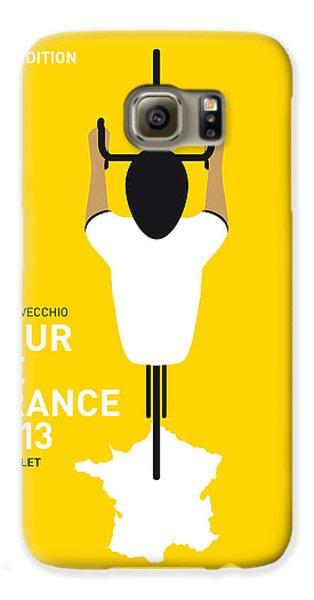 My Tour De France Minimal Poster Galaxy S6 Case by Chungkong Art