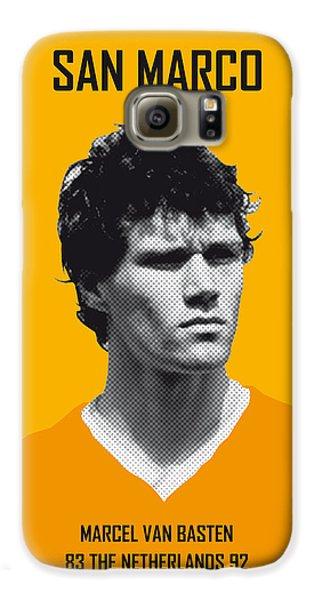 My Van Basten Soccer Legend Poster Galaxy S6 Case by Chungkong Art