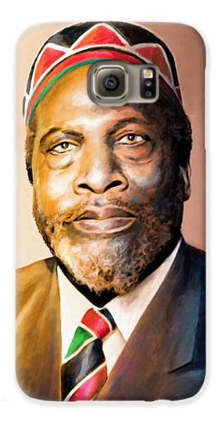 Mzee Jomo Kenyatta Galaxy S6 Case by Anthony Mwangi