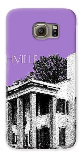 Nashville Skyline Belle Meade Plantation - Violet Galaxy S6 Case by DB Artist