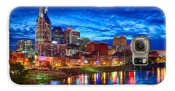Nashville Skyline Galaxy S6 Case by Dan Holland