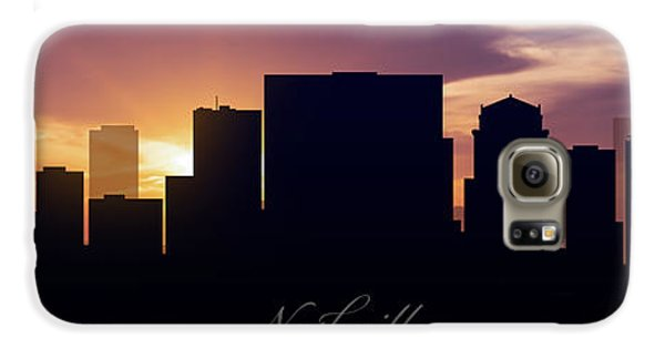 Nashville Sunset Galaxy S6 Case by Aged Pixel