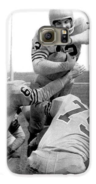 Navy Quarterback Staubach Galaxy S6 Case by Underwood Archives