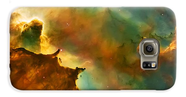 Nebula Cloud Galaxy S6 Case by The  Vault - Jennifer Rondinelli Reilly