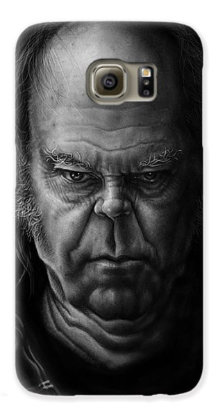 Neil Young Galaxy S6 Case by Andre Koekemoer