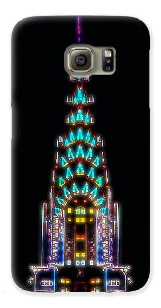 Neon Spires Galaxy S6 Case by Az Jackson