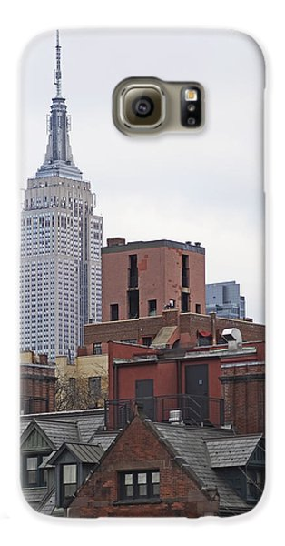 New York Buttes Galaxy S6 Case by Rona Black