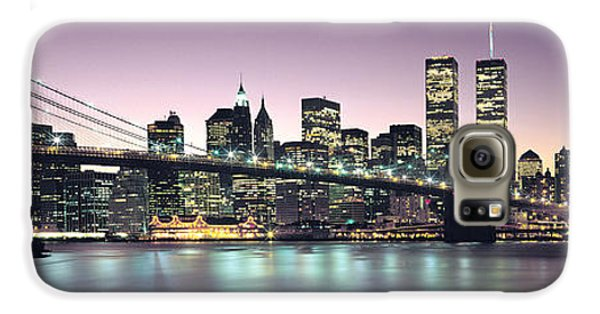 New York City Skyline Galaxy S6 Case by Jon Neidert