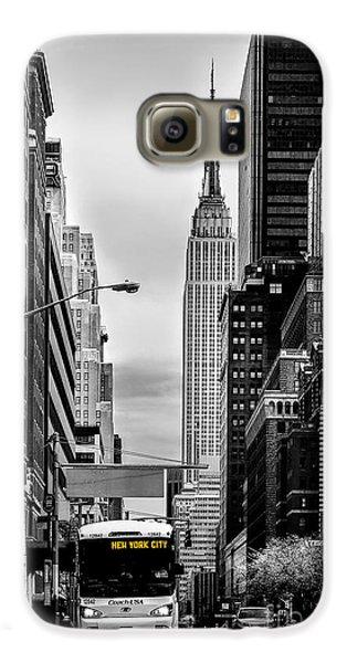 New York Express Galaxy S6 Case by Az Jackson