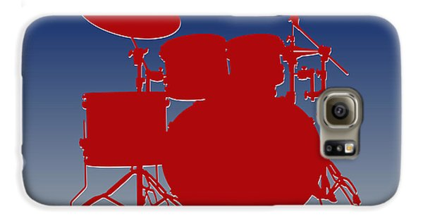 New York Giants Drum Set Galaxy S6 Case by Joe Hamilton