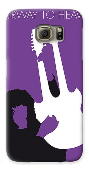 No011 My Led Zeppelin Minimal Music Poster Galaxy S6 Case by Chungkong Art