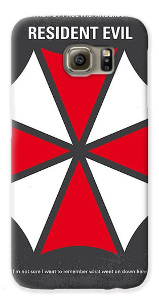 No119 My Resident Evil Minimal Movie Poster Galaxy S6 Case by Chungkong Art