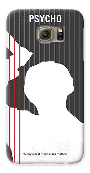 No185 My Psycho Minimal Movie Poster Galaxy S6 Case by Chungkong Art
