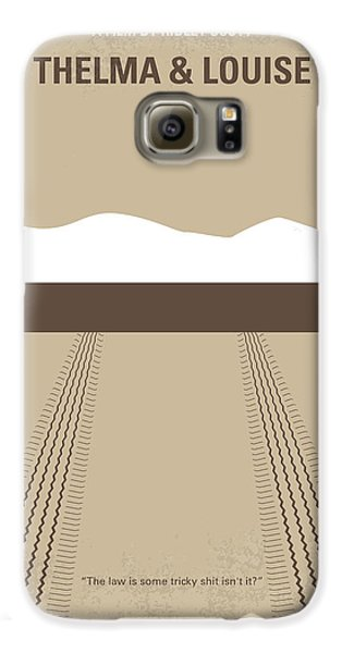 No189 My Thelma And Louise Minimal Movie Poster Galaxy S6 Case by Chungkong Art
