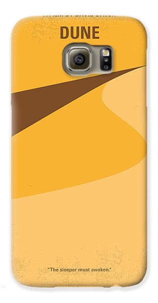 No251 My Dune Minimal Movie Poster Galaxy S6 Case by Chungkong Art