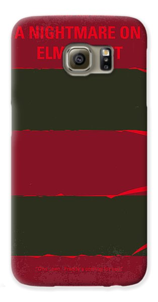 No265 My Nightmare On Elmstreet Minimal Movie Poster Galaxy S6 Case by Chungkong Art