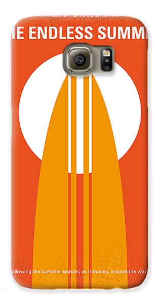 No274 My The Endless Summer Minimal Movie Poster Galaxy S6 Case by Chungkong Art