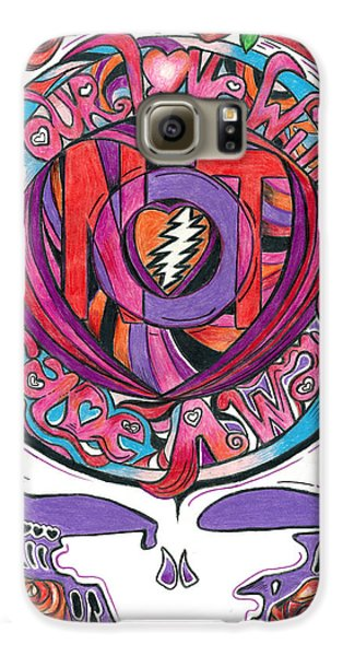 Not Fade Away Galaxy Case by Kevin J Cooper Artwork