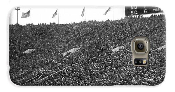 Notre Dame-usc Scoreboard Galaxy S6 Case by Underwood Archives