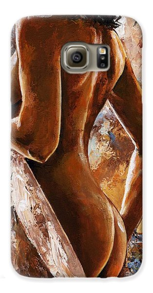 Nude 07 Galaxy S6 Case by Emerico Imre Toth