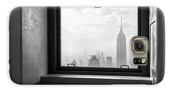 Nyc Room With A View Galaxy S6 Case by Nina Papiorek