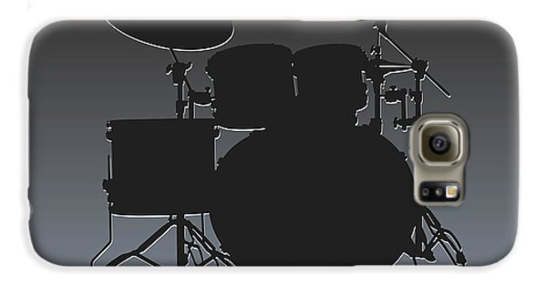 Oakland Raiders Drum Set Galaxy S6 Case by Joe Hamilton