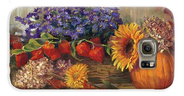 October Still Life Galaxy S6 Case by Carol Rowan