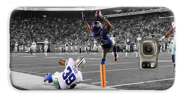 Odell Beckham Breaking The Internet Galaxy S6 Case by Brian Reaves