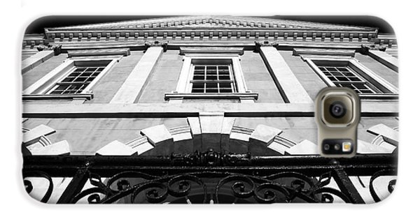 Old Exchange Building Galaxy S6 Case by John Rizzuto