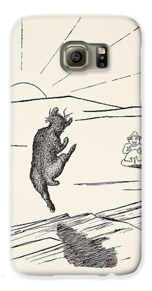 Old Man Kangaroo Galaxy S6 Case by Rudyard Kipling