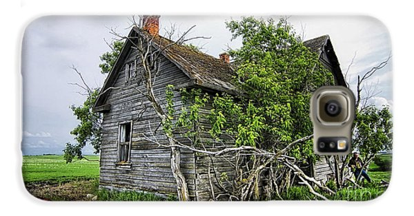 Old Wood House Galaxy S6 Case by Marvin Blaine