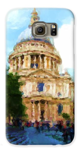 On The Steps Of Saint Pauls Galaxy S6 Case by Jenny Armitage