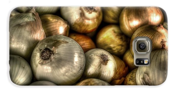 Onions Galaxy S6 Case by David Morefield