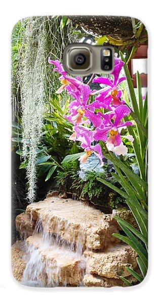 Orchid Garden Galaxy S6 Case by Carey Chen