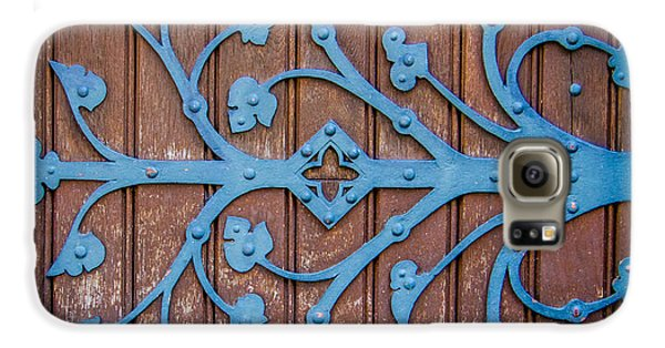 Ornate Church Door Hinge Galaxy S6 Case by Mr Doomits