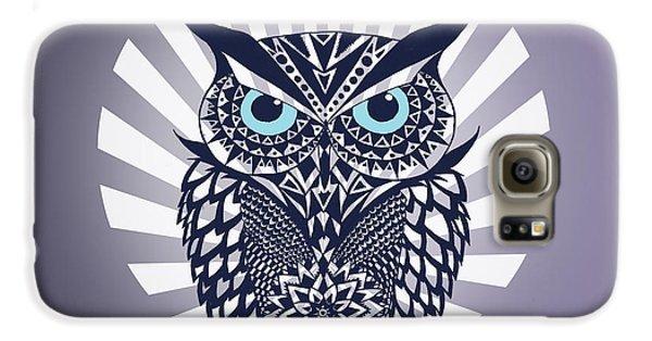 Owl Galaxy S6 Case by Mark Ashkenazi
