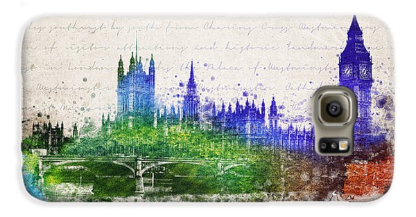 Palace Of Westminster Galaxy S6 Case by Aged Pixel