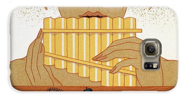 Pan Piper Galaxy S6 Case by Georges Barbier