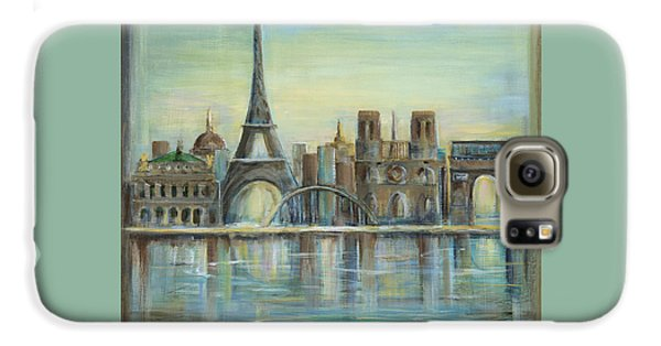Paris Highlights Galaxy S6 Case by Marilyn Dunlap