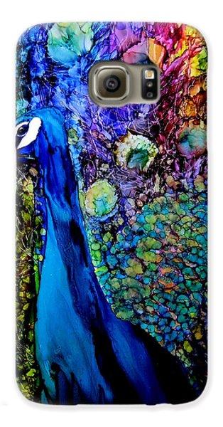 Peacock II Galaxy S6 Case by Karen Walker