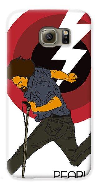 Pearl Jam Lightning Bolt Galaxy S6 Case by Tomas Raul Calvo Sanchez