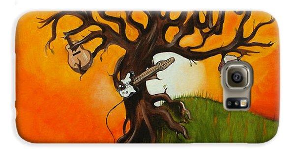 Pearl Jam Tree Galaxy S6 Case by Tarah Davis